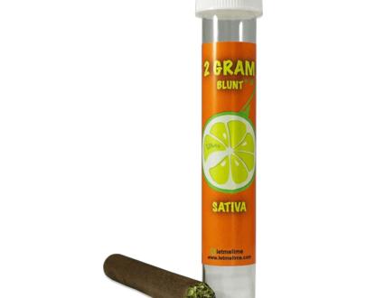 Lime - Premium Marijuana Flower - Blunt