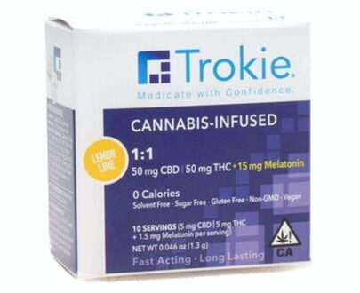 Trokie CBD and THC lozenges