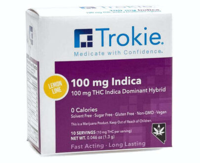 Trokie THC Indica lozenges
