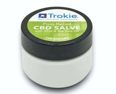 Trokie CBD salve with tea tree