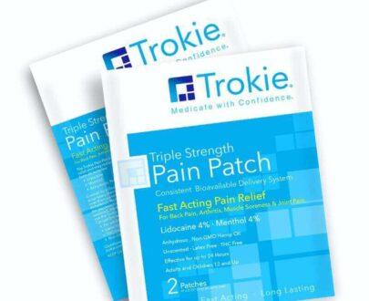 Trokie Triple strength CBD patch for pain