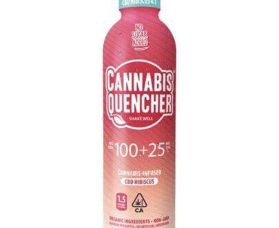 Cannabis quencher marijuana infused hibiscus beverage