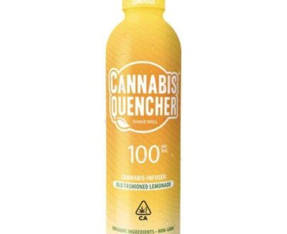 Marijuana infused Old fashion lemonade cannabis quencher