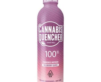 Wildberry Guava cannabis quencher beverage