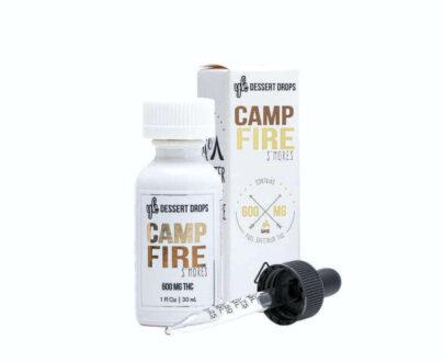 YK Marijuana infused camp fire s'more drops