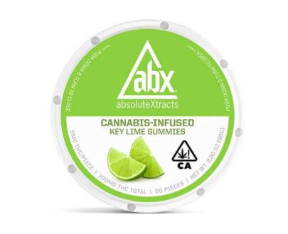 ABX Marijuana infused Keylime gummies