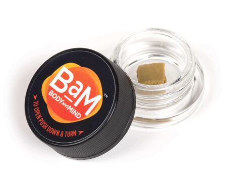 Cannabis Concentrate Product in a Jar