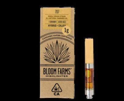 707 marijuana oil cartridge 1 g