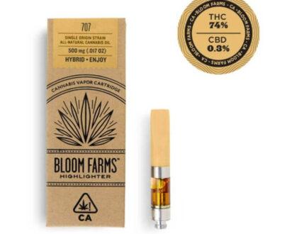 707 cannabis oil cartridge .5 g
