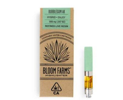 Bloom farms premium cannabis oil vape cartridge