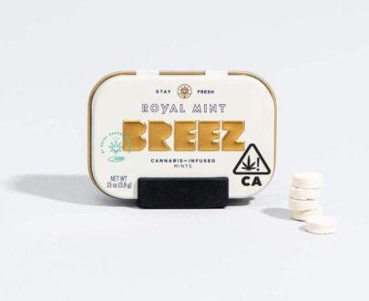 Breez Royal Mint Tin 100 mg