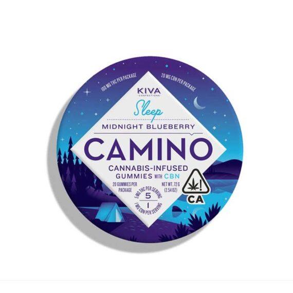 Camino Midnight Blueberry Gummies – 20 ct
