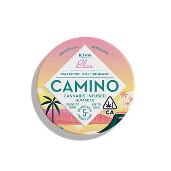 Cannabis infused Camino watermelon lemonade gummy's
