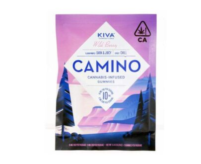 Cannabis infused Camino Wildberry gummies