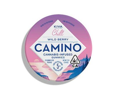 Cannabis infused Camino wild berry gummy's