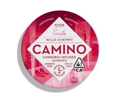 Camino | Wild Cherry Gummies – 20 ct