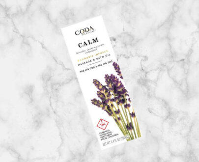 Coda Calm Massage Bath Oil 100ml