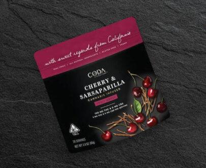 Coda Cherry Sarsaparilla Fruit Notes 100mg