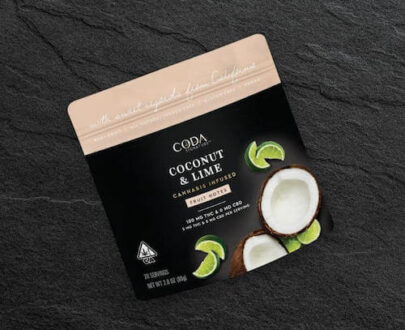 Coda Coconut Lime Fruit Notes 100mg