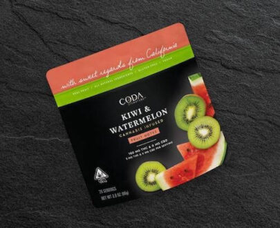 Coda Kiwi Watermelon Fruit Notes 100mg