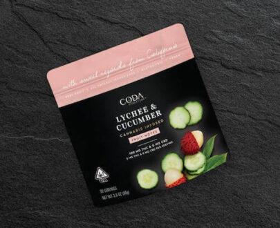 Coda Lychee Cucumber Fruit Notes 100mg