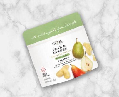 Coda Pear Ginger CBD Fruit Notes 200mg
