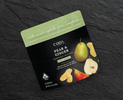 Coda Pear Ginger Fruit Notes 100mg