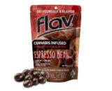Flav Cannabis infused dark chocolate espresso beans - Port Hueneme, CA - 805-Cannabis.