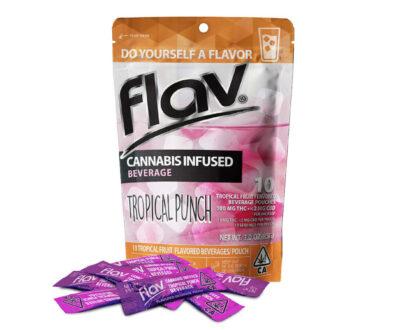 Flav Cannabis Tropical punch water pouches - Port Hueneme, CA
