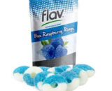 Flav- Cannabis Infused Blue Raspberry Rings 100mg