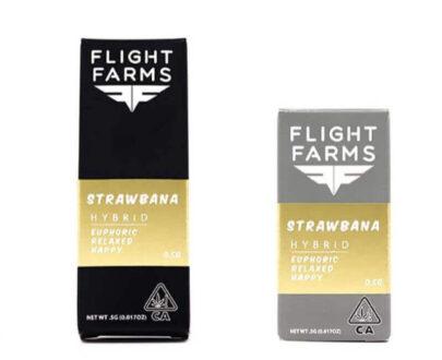 Flight Farms Strawnana F9 Cartridge 1g