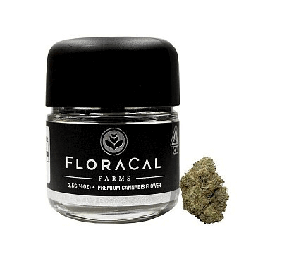 Floracal Meringue Kush available at local cannabis dispensaries in Port Hueneme and Ojai, CA