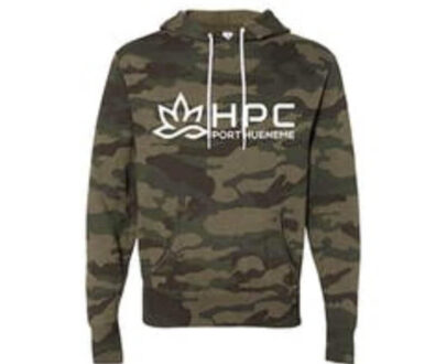 420 HPC- Hueneme patient collective camo hoodie extra small