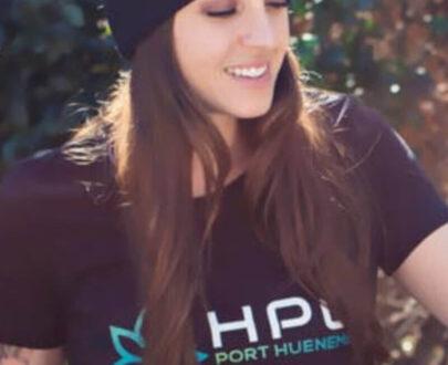 420 HPC Hueneme Patient Collective apparel - Black t-shirt