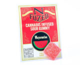 Cannabis infused sour watermelon gummy's