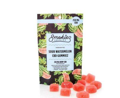 Smokiez Sour Watermelon Fruit Chew 250mg CBD