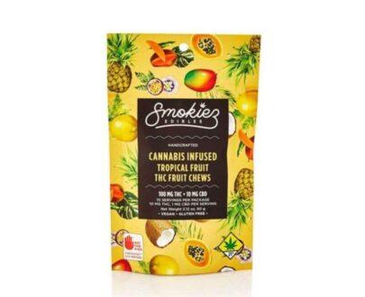 Smokiez Tropical Fruit Chew 100mg